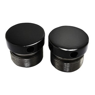 LA Choppers Flush-Mount Fork Caps For Harley 39mm Forks