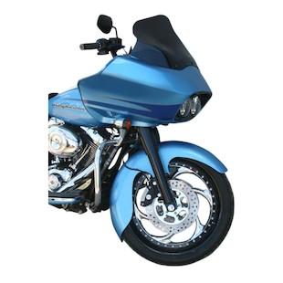 Klock Werks Jai Alai Tire Hugger Series Front Fender Fit Kit For Harley Touring 2014-2017