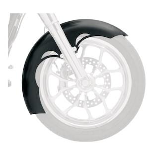 Klock Werks Tude Tire Hugger Series Front Fender Fit Kit For Harley Touring 2014-2018