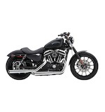 "Cobra 3"" Slip-On Mufflers For Harley Sportster 2014-2016"