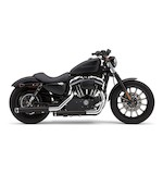 """Cobra 3"""" Slip-On Mufflers For Harley Sportster 2014-2018"""