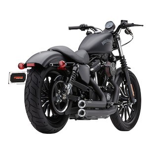 """Cobra Speedster Short 2.5"""" Exhaust For Harley Sportster 2014-2015"""