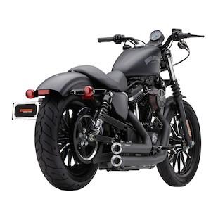 """Cobra Speedster Short 2.5"""" Exhaust For Harley Sportster 2007-2013"""