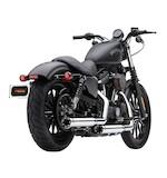 "Cobra 3"" Slip-On Mufflers With Race Pro Tips For Harley Sportster 2014"