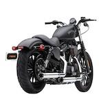 """Cobra 3"""" RPT Slip-On Mufflers For Harley Sportster 2014-2018"""
