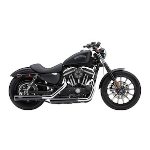 "Cobra 3"" Slip-On Mufflers With Race Pro Tips For Harley Sportster 2007-2013"