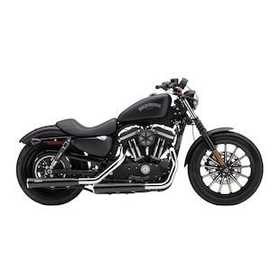 "Cobra 3"" Slip-On Mufflers With Race Pro Tips For Harley Sportster 2007-2013"