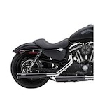 "Cobra 3"" Slip-On Mufflers With Race Pro Tips For Harley Softail Rocker / Convertible 2007-2014"