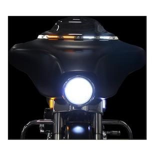 Custom Dynamics Windshield Trim For Harley Touring And Trike 1996-2013