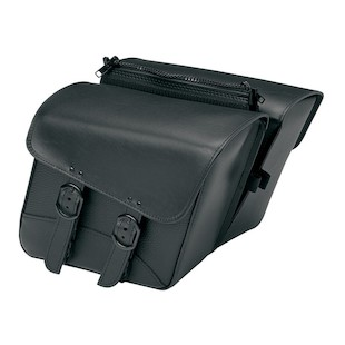 Willie & Max Black Jack Slant Saddlebags