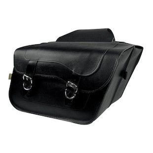 Willie & Max Hi-Pipe Standard Slant Saddlebags