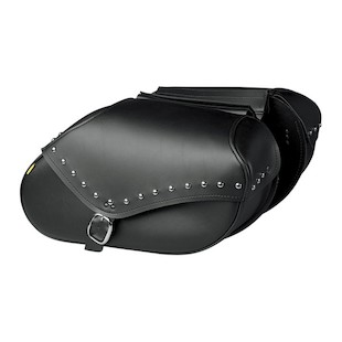 Willie & Max Studded Revolution Saddlebags