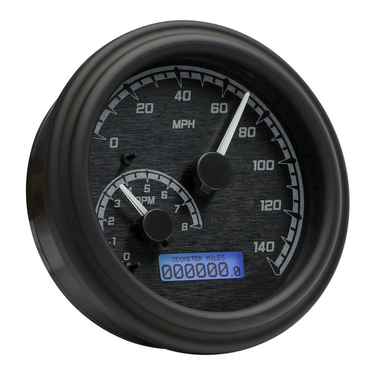 Dakota Digital Mvx Series Fatbob Gauge System For Harley Big Twin X