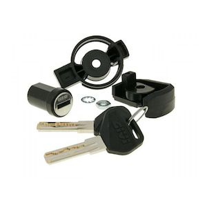 Givi SL101 / SL102 / SL103 / SL105 Black Key Security Lock Set