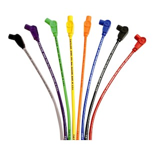 Sumax 8mm Spark Plug Wires For Harley FXR 1984-1999