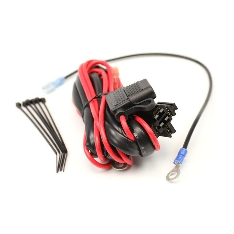 denali plug n play wiring harness for dual tone airhorns revzilla Glow Plug Wiring Harness