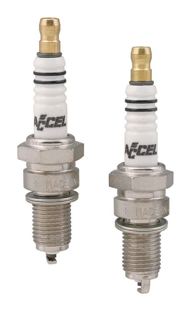Accel U Groove Spark Plugs For Harley Big Twin Sportster 1986 2019