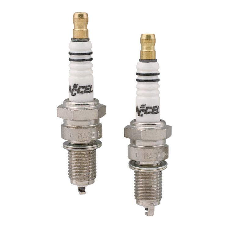Accel U-Groove Spark Plugs For Harley Pan / Shovel 1948-1974