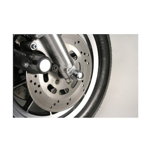Custom Cycle Engineering Gumdrop Front Axle Caps For Harley Softail Springer 1989-2006