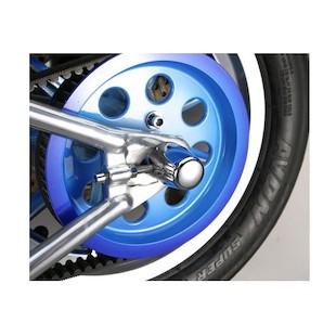 Custom Cycle Engineering Gumdrop Rear Axle Caps For Harley Softail 1986-2007