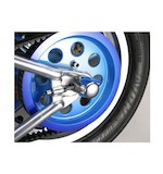 Custom Cycle Engineering Gumdrop Rear Axle Caps For Harley Softail 1986-2007