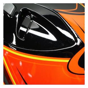HJC FG-17 Banshee Helmet Black/Orange / LG [Blemished]