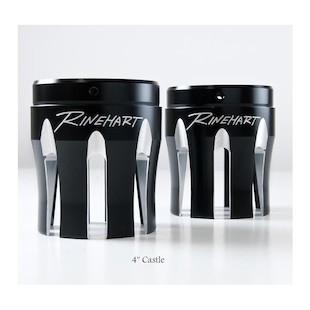 """Rinehart Exhaust 4"""" Moto Series Muffler End Caps"""