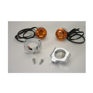 Custom Cycle Engineering Turn Signal Clamps For Harley