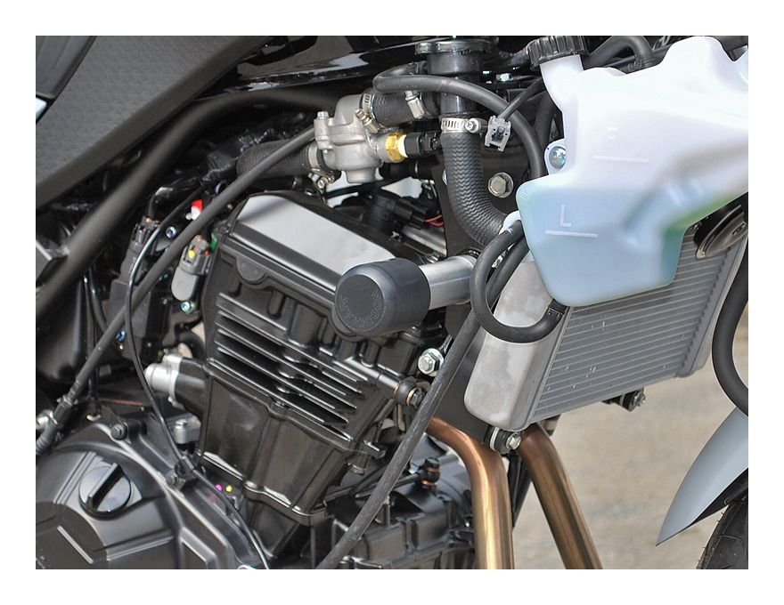 KAWASAKI 2013-2017 NINJA 300R WOODCRAFT RACING UNDER BODYWORK FRAME SLIDER KIT
