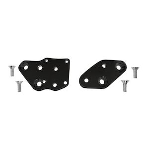 Accutronix Forward Control Kick Back Plates For Harley Softail 1986-1999
