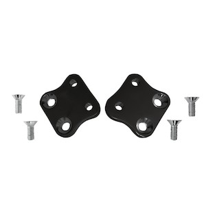 Accutronix Forward Control Kick Back Plates For Harley Dyna 1991-2017