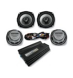 Hogtunes Big Ultra Stereo Upgrade Kit For Harley Ultra 2000-2013