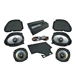 Hogtunes Big RG Road Glide Ultra Amp And Speaker Kit For Harley Road Glide 1998-2012