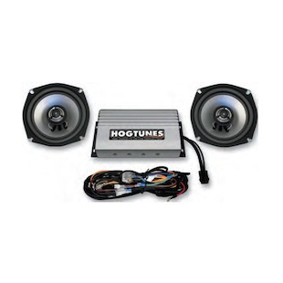 Hogtunes REV Series Amp/Speaker Kit For Harley Touring 1998-2012