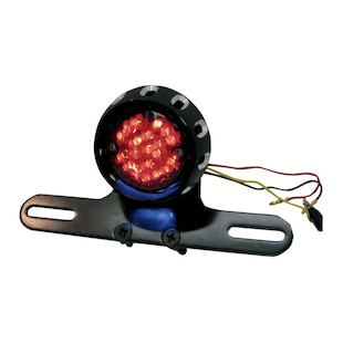 Drag Specialties LED Taillight & License Plate Mount