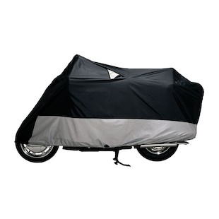 Dowco Guardian Weatherall Plus Motorcycle Cover Black/Grey / 2XL [Previously Installed]