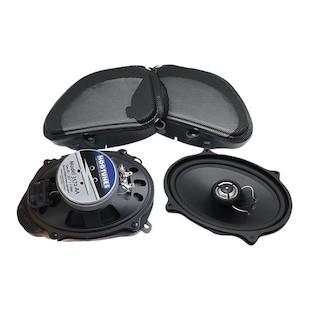 Hogtunes Gen 3 Front Speaker Kit For Harley Road Glide 2006-2013