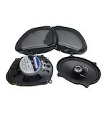 Hogtunes Gen 3 Front Speaker Kit For Harley Road Glide 2006-2013