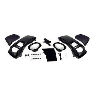Hogtunes Speaker Lid Kit With Speakers For Harley Touring 1998-2013