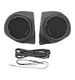 Hogtunes Rear Speaker Pods For Harley Touring 1998-2013