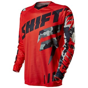 Shift Faction Camo Jersey