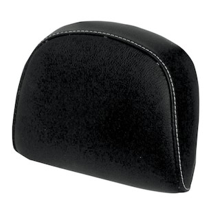 NYC Choppers Leather Backrest Pad For Harley Crossbones 2008-2011