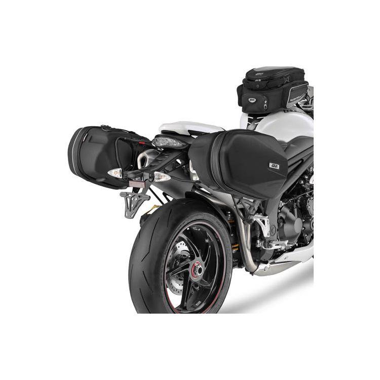Givi TE6402 Easylock Saddlebag Supports Triumph Speed Triple / R 2011-2015