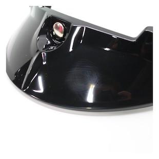 Shoei RJ Platinum-R Visor Black [Blemished]