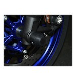 Woodcraft Front Axle Sliders Yamaha FZ-09 2014