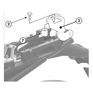 Givi 366KIT Brackets For Side Case Racks Yamaha FZ8 2011-2013
