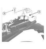 Givi 366KIT Side Case Kit Yamaha FZ8 2011-2013