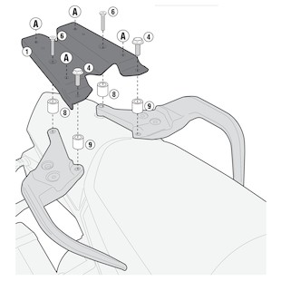 Givi SR7703 Topcase Rack KTM 1190 Adventure / R 2013-2014