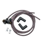 NYC Choppers Cloth Spark Plug Ignition Wire Kit For Harley