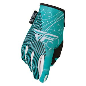 Fly Racing Dirt Kinetic Women's Gloves